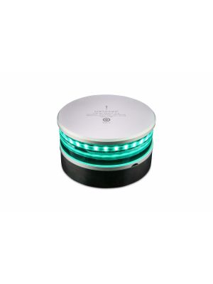 2nm 360° Green, double w/0,7 meter cable, PE-base