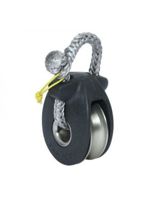 KBO8 SINGLE BLOCK> Delivered with soft shackle