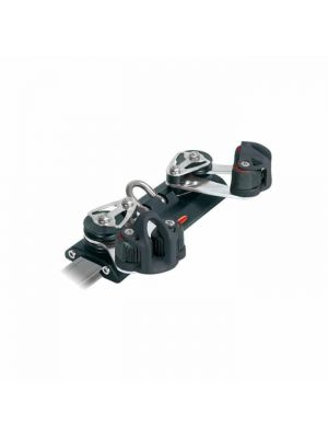 S26 Traveller Car 205mm, 4 ControlSheaves, Cleats