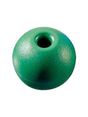 Parrel Bead,Green,25mm