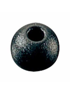 Pallina fermascotte Ø16mm, colore nero