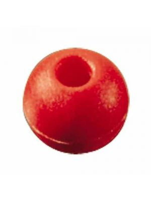 Pallina fermascotte Ø16mm, colore rosso