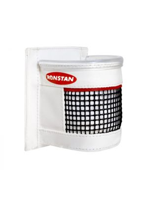 Drink Holder,White PVC with Mesh