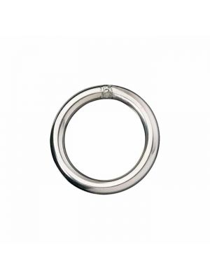 Anello chiuso, Ø interno 25.4mm, filo 5mm, in acciaio inox