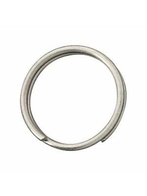 Anello portachiavi, Ø interno 25mm, filo 2mm, in acciaio inox