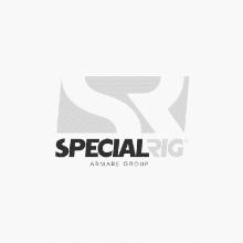 3nm 135° Yellow Towing light, double , CD/CS alu base - black