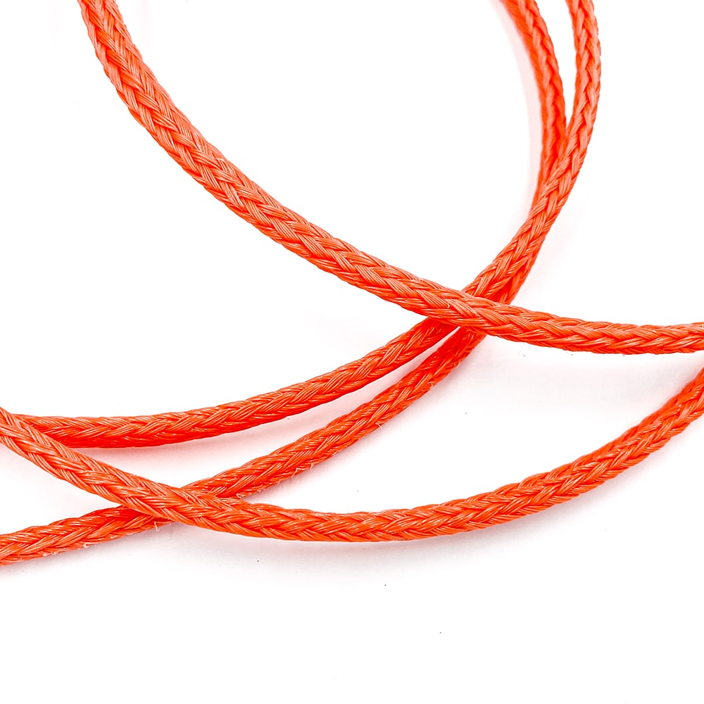 Polyethylene monofilament braid